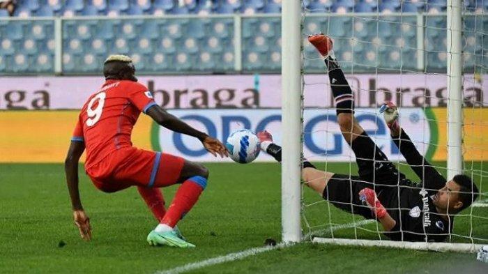 Napoli Kembali ke Puncak Serie A Italia, Hancurkan Sampdoria 4-0 Tanpa Balas