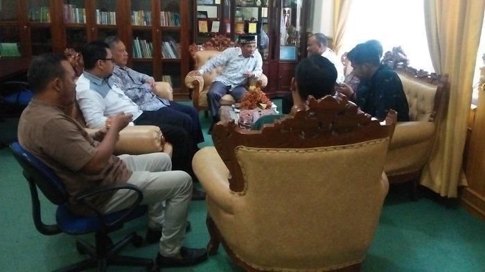 Jelang Peringatan Hari Sumpah Pemuda, Pengurus KNPI Temui Rektor IAIN Langsa