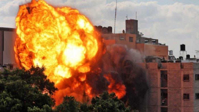 Israel Tembakan Artileri dan Serangan Udara Ke Gaza, Belasan Warga Palestina Meninggal