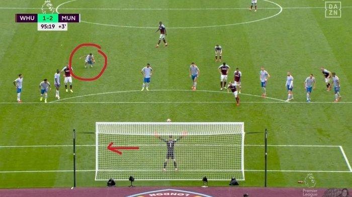 Berkat Kode Tangan dari Cristiano Ronaldo, David de Gea Berhasil Tepis Penalti Saat Lawan West Ham