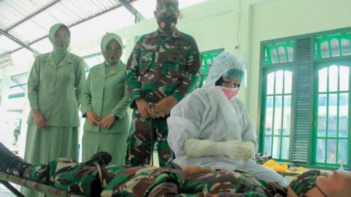 Sambut HUT Ke-75 TNI,  Kodim Aceh Selatan Gelar Donor Darah