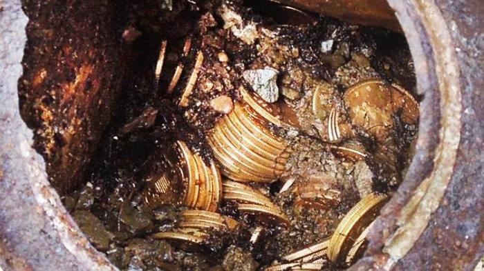 5 Fakta Perburuan Harta Karun Kerajaan Sriwijaya di Bekas Karhutla, Gali 1 Meter, Emas Ditemukan