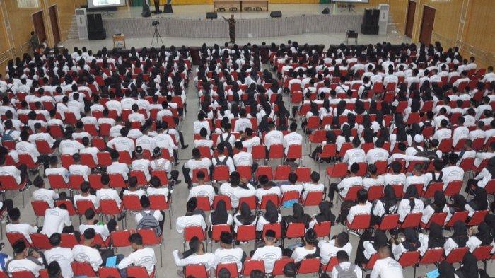 Ribuan Mahasiswa Baru Unmuha Dibekali KOKAM SAR, Begini Bentuknya