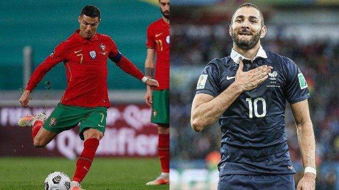 Jadwal Grup F Persaingan Grup Neraka, Reuni Cristiano Ronaldo dan Karim Benzema Berbalut Dendam
