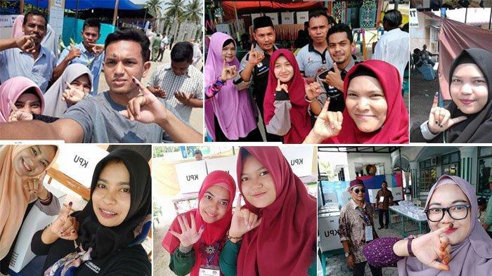 KIP Bireuen Tetapkan Enam Juara Lomba Foto Selfie/Groufie Pemilu 2019, Ini Foto-fotonya!