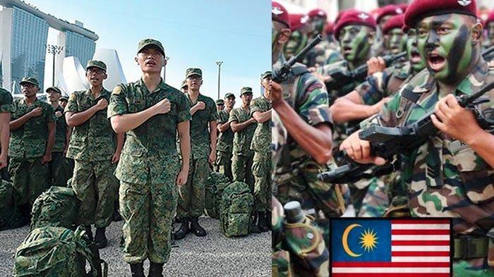 Hubungan Malaysia dan Singapura Memanas, Ini Perbandingan Kekuatan Militer Keduanya
