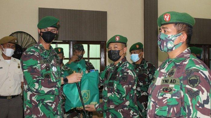 Ini Pesan Dandim Aceh Utara kepada Prajurit yang terima THR dan Paket Lebaran
