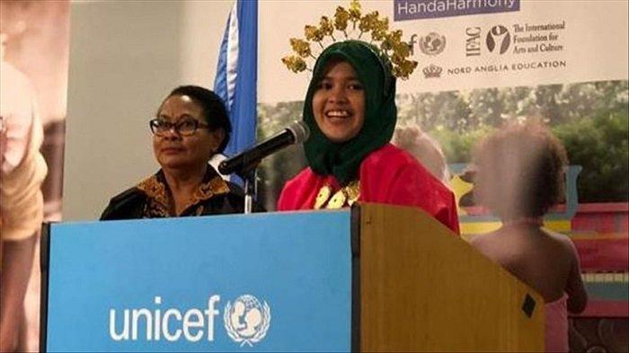 Pelajar Indonesia Luncurkan Komik Antibullying di Markas PBB