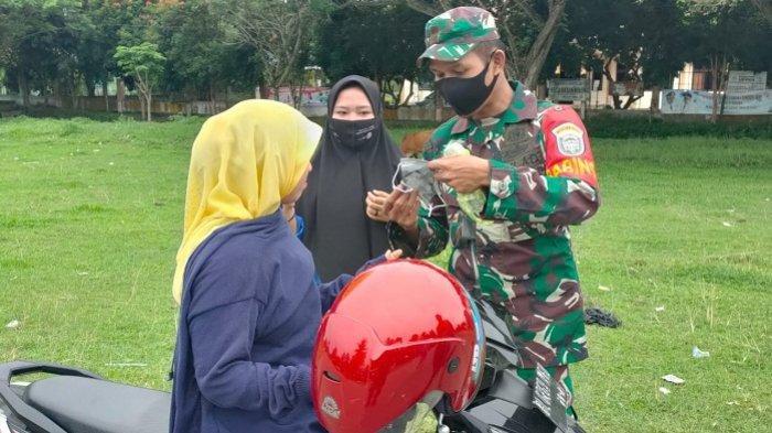 Babinsa Koramil Nibong Sosialisasikan Pencegahan Covid-19 di Pelosok Aceh Utara
