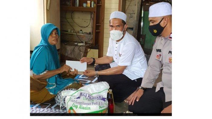 Komunitas Jumat Berkah Sambangi Janda Miskin di Langsa dan Aceh Tamiang