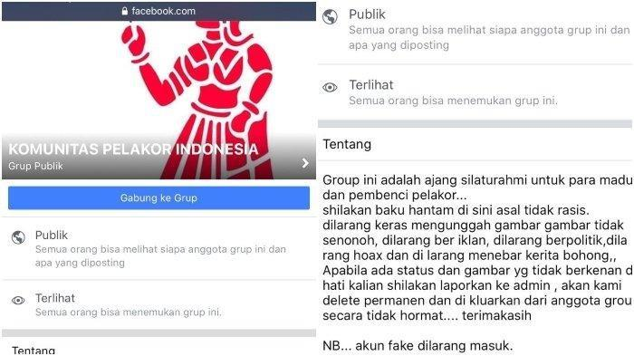 Komunitas Pelakor Indonesia Berisi Curhatan Hati Hebohkan Jagat Facebook, Ini Tanggapan Psikolog
