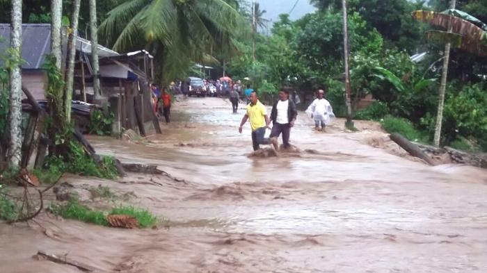 Dua Irigasi Jebol di Tangse, Lima Desa Terancam Tenggelam