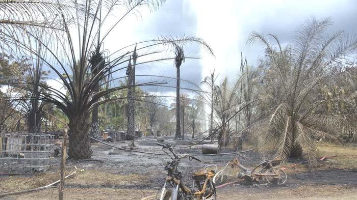 Setelah Penutupan Sumur Minyak yang Meledak, Warga Dilarang Memasak dan Membakar di Radius Ini