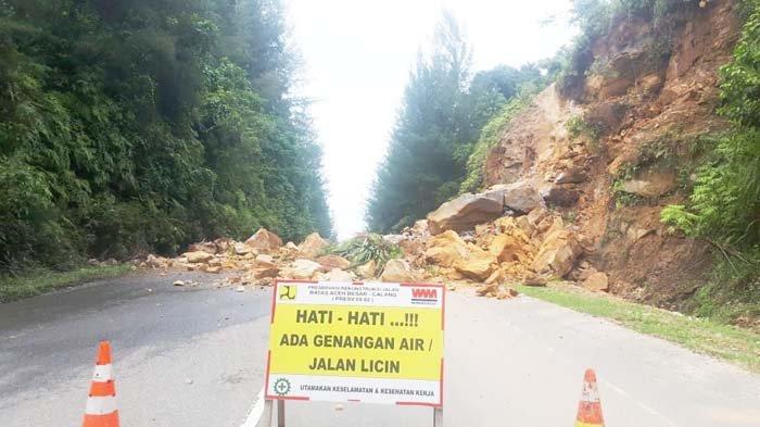 Lintas Banda Aceh Calang Longsor Serambi Indonesia