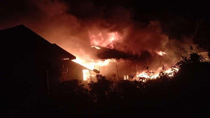 9 Rumah Warga di Bener Meriah Terbakar, 7 Hangus dan 2 Terimbas, Begini Kejadiannya