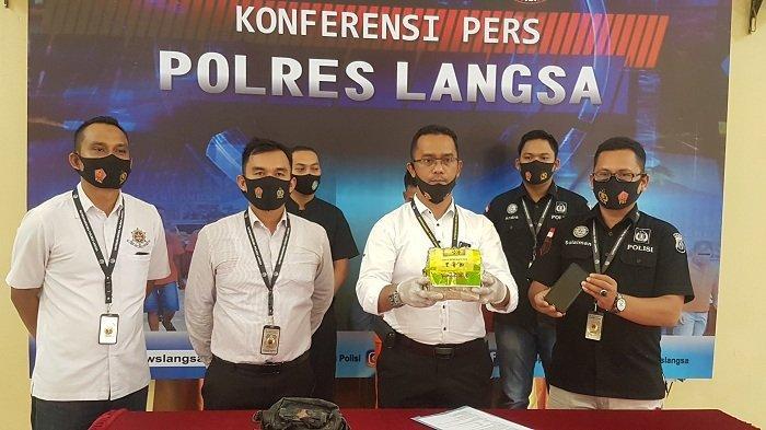 Oknum Mahasiswa Aceh Timur Ini Tertangkap Bawa Sabu 1 Kg, Mengaku Hanya Suruhan Orang