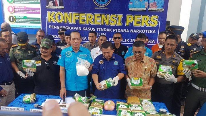 Tim Gabungan BNNP dan BNNK Langsa Bongkar Sindikat Sabu di Aceh Timur, Dirilis Dalam Waktu Dekat