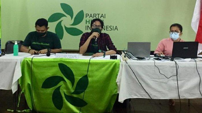 Partai Hijau Indonesia Gelar Kongres Pertama secara Virtual