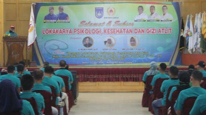 127 Atlet dan Pelatih Cabang Olahraga di Langsa Ikut Lokakarya Psikologi dan Kesehatan