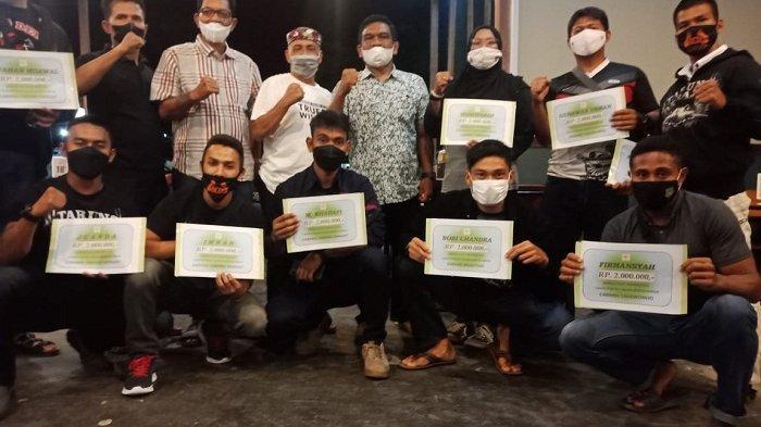 12 Atlet Pidie Perkuat Aceh di PON Papua, KONI Pidie Berikan Tali Asih