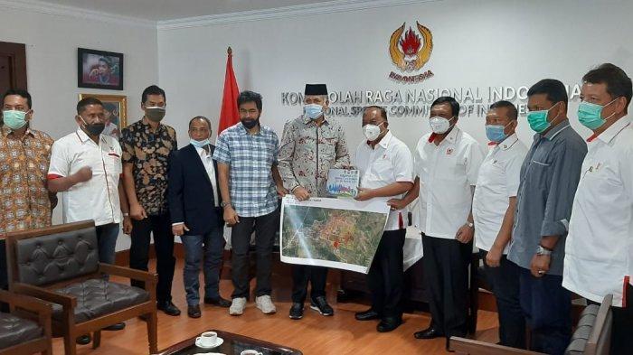 Usai Menjumpai Menpora, Plt Gubernur Aceh Melakukan Pertemuan dengan Ketua Umum KONI Pusat