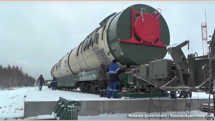 Rusia Segera Uji Tembak Sarmat, Rudal Balistik Antarbenua Terbesar di Dunia
