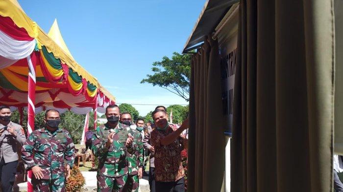 Danrem 012/TU Resmikan Koramil Lembah Sabil di Aceh Barat Daya