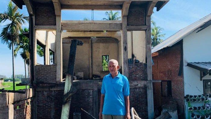 Korban KebakaranPijay Tempati Rumah Keluarga