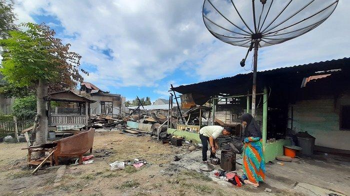42 Korban Kebakaran di Batuphat Timur Lhokseumawe Masih Mengungsi
