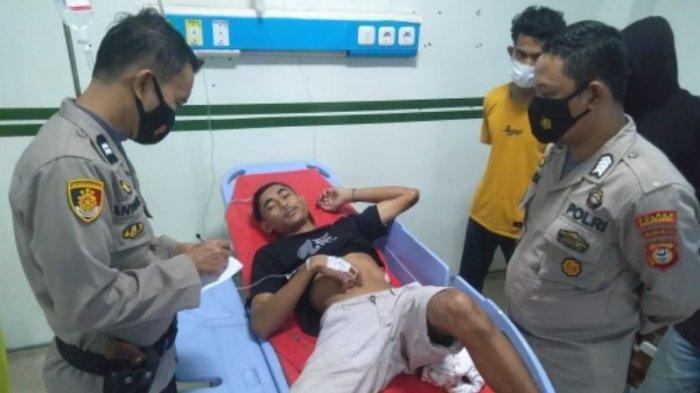Tukang Sapu Ditikam Tukang Parkir saat Turun dari Motor, Dipicu Dendam Lama