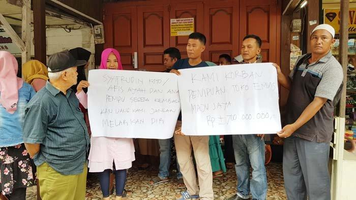 Korban Penipuan 'Serbu' Toko Emas