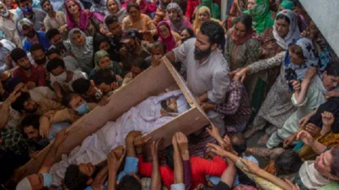 Pertempuran Sengit Pecah di Kashmir India, Dua Polisi dan Dua Warga Sipil Tewas
