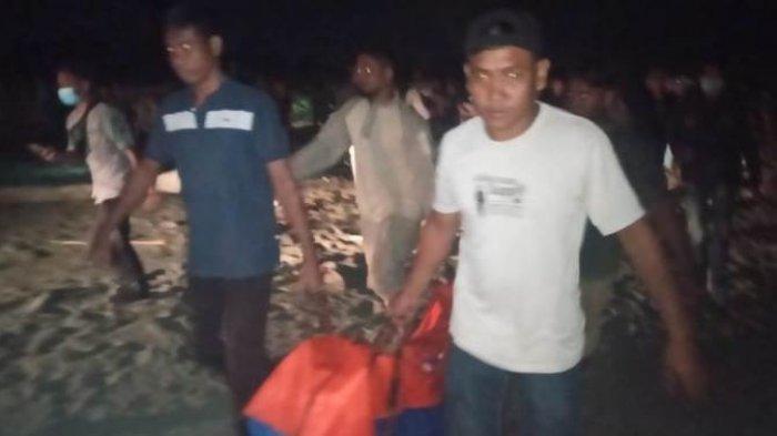 Hanyut di Pantai Naga Permai Nagan Raya, Pemuda Asal Aceh Besar Ditemukan Meninggal di Peunaga Pasi