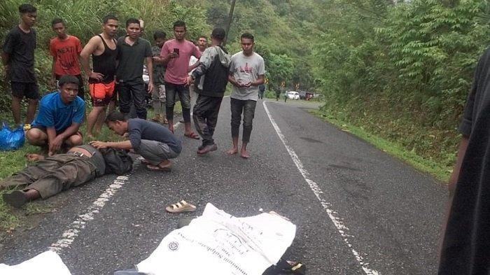 Pasutri Asal Keumala Pidie Korban Tabrak Lari, Satu Meninggal di Lokasi