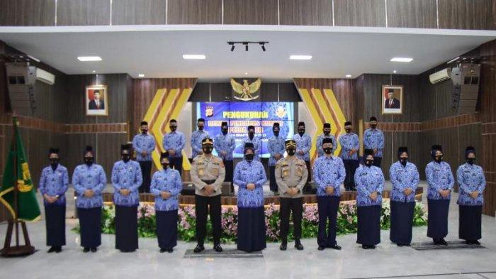 Dewan Pengurus Korpri Polda Aceh Dikukuhkan, Ini Pesan dr Niken Manohara Saat Pengukuhan