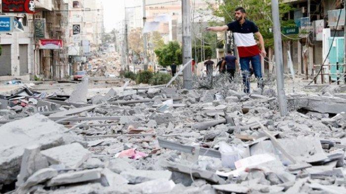 Jalur Gaza Dihantam Krisis Listrik dan Air Bersih, Infrastruktur Hancur Dirudal Jet Tempur Israel