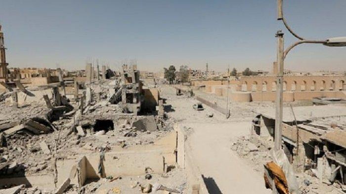 Kuburan Massal Ditemukan di Bekas Benteng ISIS di Suriah, Diyakini Ada Lebih Dari 1.000 Jenazah