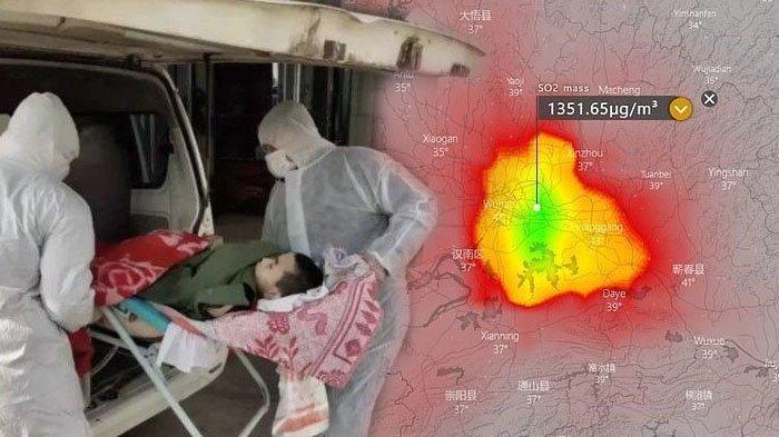 Beredar Foto Satelit yang Sempat Merekam Kota Wuhan Merah Menyala, Ilmuwan Beri Penjelasan
