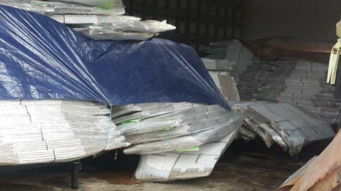 Sebanyak 2.065 Kotak Suara Berbahan Kardus Rusak Terendam Banjir, KPU Siap Ganti