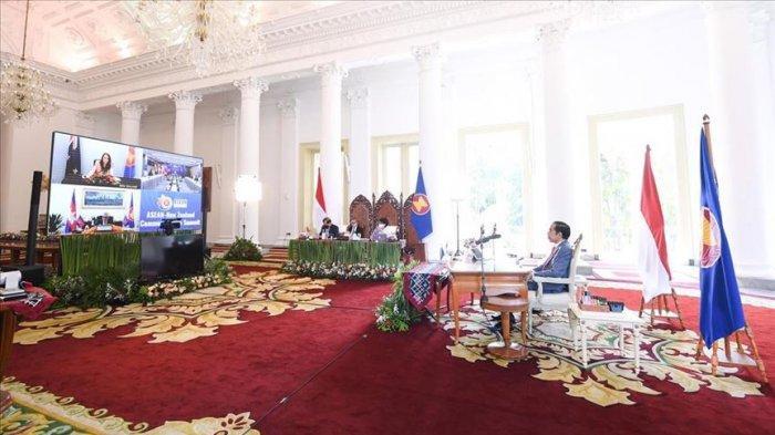 Presiden Jokowi Dorong Kemitraan ASEAN-Selandia Baru di Pasifik