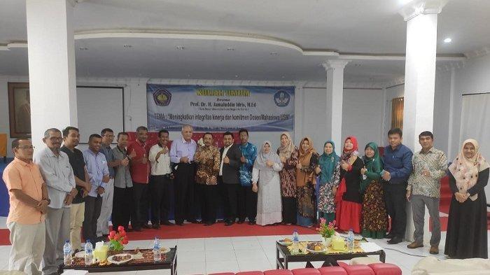 250 Mahasiswa dan Dosen Hadiri Kuliah Umum di FKIP Universitas Serambi Mekkah, Ini yang Dibahas