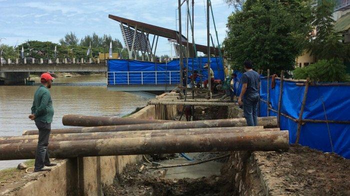 Kontraktor Mulai Bangun Pusat Wisata Kuliner di Pinggiran Krueng Aceh, Ini Bentangan Lokasinya