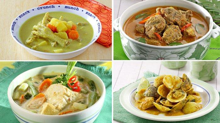 Kumpulan 15 Resep Menu Kare, Hidangan Berkuah Santan Mulai Dari Bahan Sayur, Seafood dan Daging