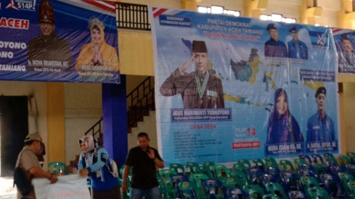 Kunjungan SBY ke Aceh Tamiang Dipusatkan di GOR Karangbaru