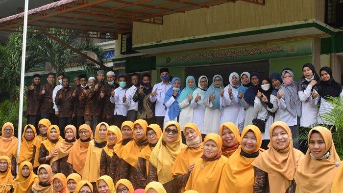 MTsN 1 Model Banda Aceh Sambut Kedatangan Tim SAPA Madrasah