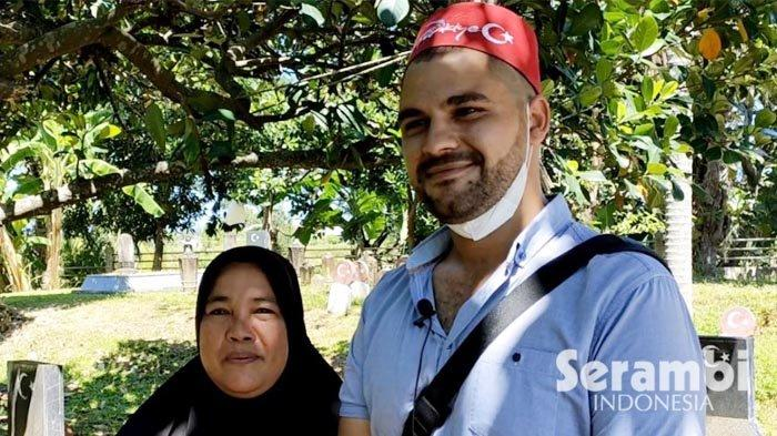 Kunjungi Jejak Ottoman Kesultanan Utsmaniyah di Aceh, Pria Turki Bertemu Cucu Tentara Turki