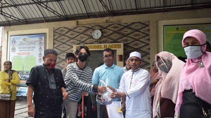 MTsN 1 Model Banda Aceh Sembelih Lima Ekor Sapi dan Enam Ekor Kambing Kurban
