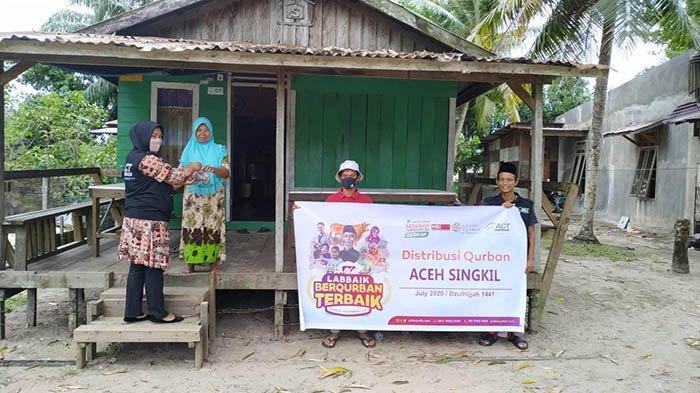 21.360 Keluarga di Aceh Terima Daging Kurban dari ACT