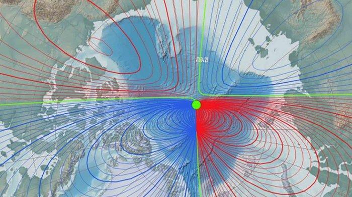 Kutub Magnet Bumi Bergeser Timbulkan Kekhawatiran Para Ilmuwan