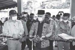 Bupati Shabela Resmikan Mako  Tagana Aceh Tengah